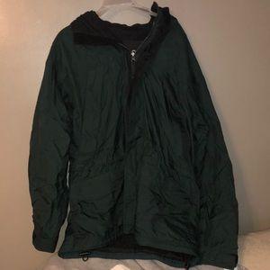 Means rain jacket